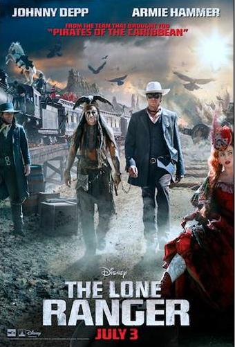 """Reseña """"The Lone Ranger"""": El Llanero Solitario y su galope lento, pero seguro."""