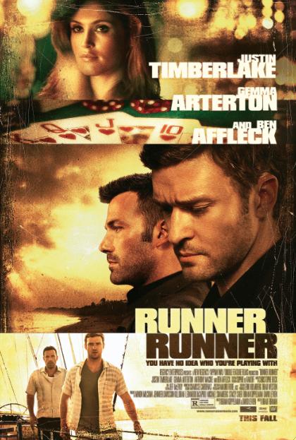 "Avances de otoño: ""Runner, Runner"" con Ben Affleck y Justin Timberlake."