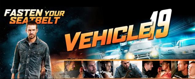 """""""Vehicle 19"""": excelente poder llevarte a Paul Walker y sus aventuras a casa."""