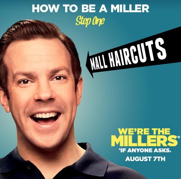 """¿ Vamos al cine ? Te invito al screening de """"We're The Millers""""."""