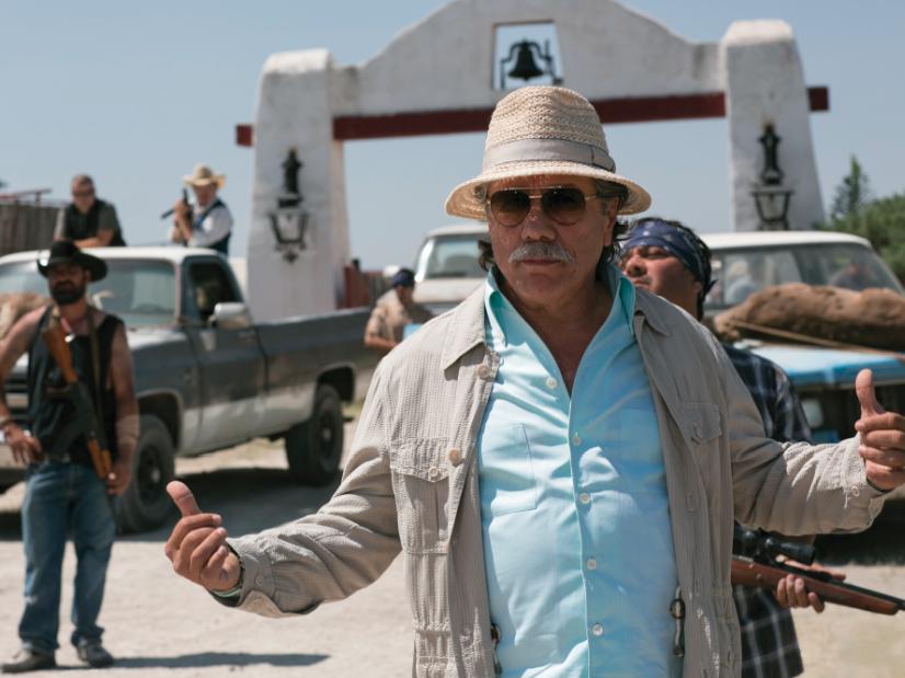 """Edward James Olmos es """"Papi Greco"""" en """"2 Guns"""". ¡ Una de mis entrevistas favoritas !"""