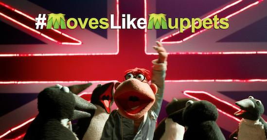 """Los Muppets se convierten en los más buscados. """"Muppets Most Wanted""""."""