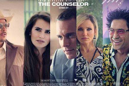 """The Counselor"" con Penelope Cruz, Javier Bardem, Cameron Diaz, Michael Fassbender y Brad Pitt."