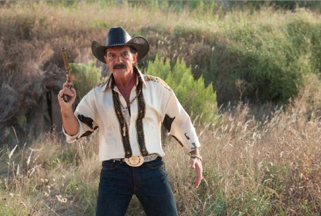 """Antonio Banderas es Gregorio Cortez en """"Machete Kills""""."""