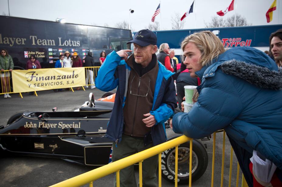 """""""Rush"""", la historia de James Hunt y Niki Lauda, bajo la dirección del galardonado Ron Howard."""