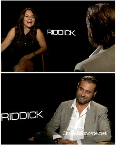 """El genial Jordi Mollà y sus simpáticas anécdotas en la filmación de """"Riddick""""."""