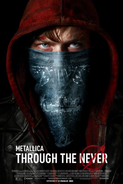 "Te invito a vivir la experiencia ""Metallica: Through The Never"". Screening en 6 ciudades."