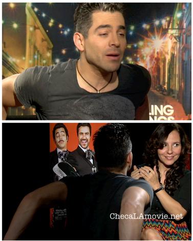 """Omar Chaparro, divertido y romántico. Protagoniza junto a Jaime Camil """"Pulling Strings""""."""