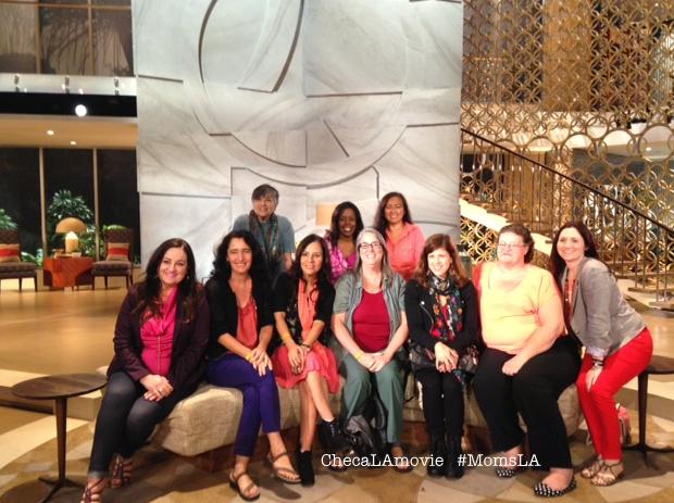 Mi visita al Show de Queen Latifah junto con #MomsLA #QLShow #CLMovieLifestyle.