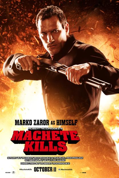 """Marko Zaror y su encuentro mágico con Robert Rodríguez y """"Machete Kills""""."""