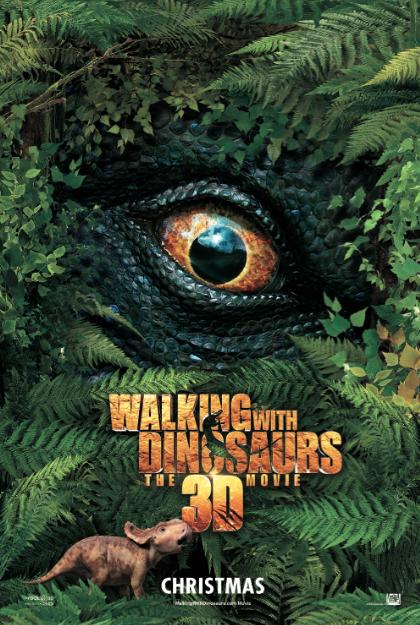 """Esta Navidad, """"Caminando con Dinosaurios 3D"""". Una perspectiva original de la prehistoria."""