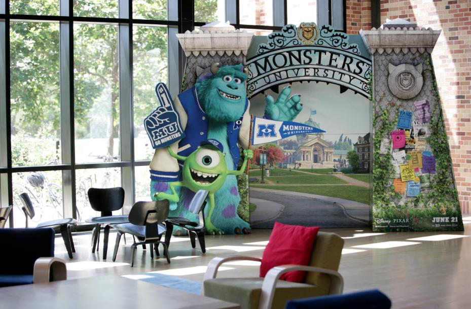 """La magia detrás de la realización de """"Monsters University"""". Lo aprendido en Pixar."""