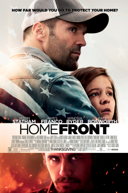 """""""Homefront"""": Suspenso y Acción con James Franco, Jason Statham y Winona Ryder."""