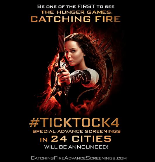 """¡Sé uno de los primeros en ver """"The Hunger Games: Catching Fire""""! Screening."""
