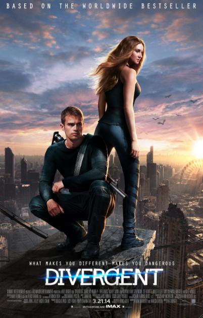 """Nuevos pósters y trailer de #Divergent """"Divergente""""."""