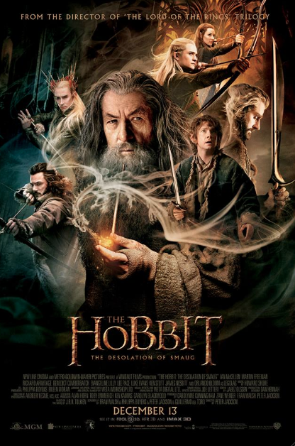 "Screening ""The Hobbit: The Desolation of Smaug"". #TheHobbit."