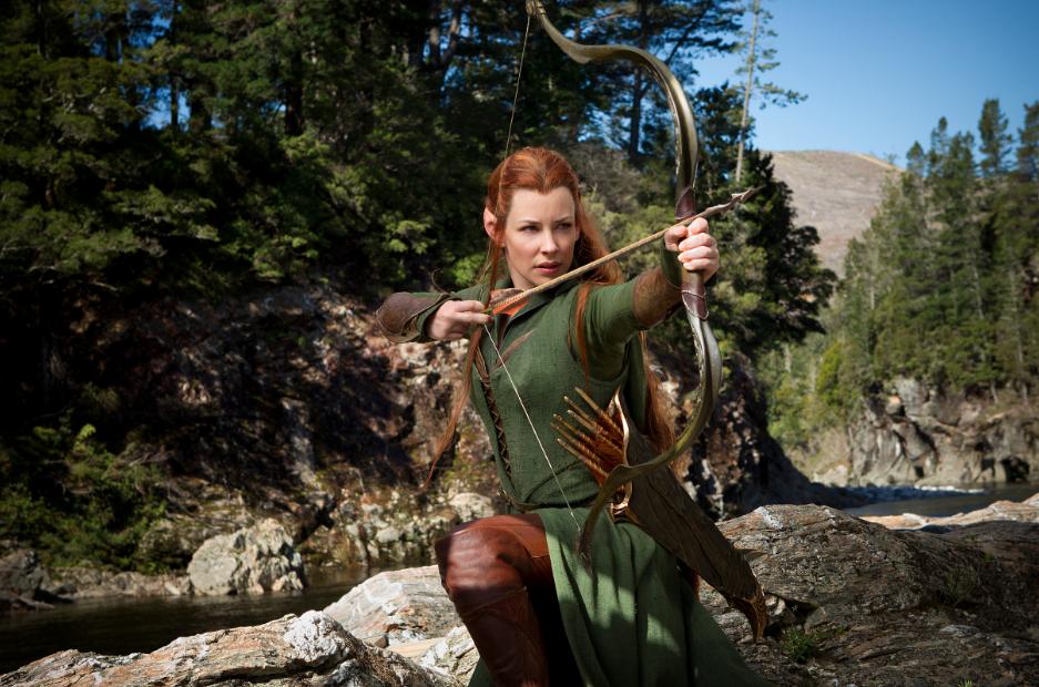 """Evangeline Lilly: La Elfo Tauriel, una heorína necesaria en la historia de """"The Hobbit""""."""
