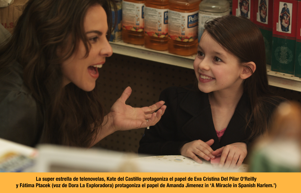 "Kate del Castillo: el avance del cine latino y su película ""A Miracle in The Spanish Harlem""."