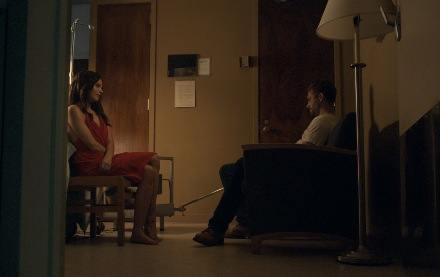 PAUL WALKER as NOLAN HAYES and GENESIS RODRIGUEZ as ABIGAIL in Hours. Photo credit: © Copyright Pantelion Films 2013
