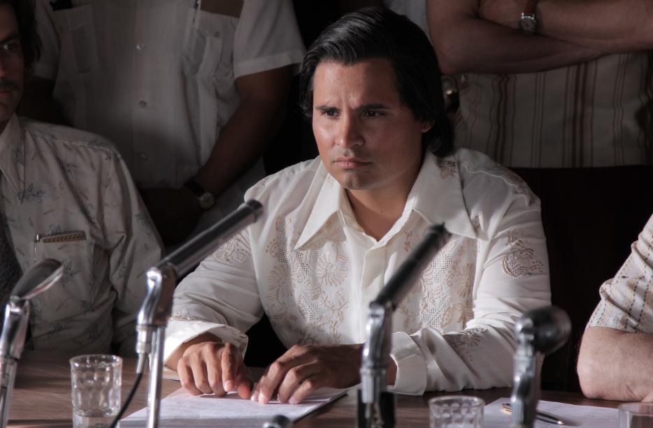 """La historia del activista """"César Chávez"""" llega al cine, con Michael Peña y dirigida por Diego Luna."""