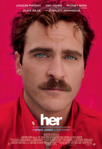 """Reseña """"Her"""": Joaquin Phoenix y Spike Jonze presentan en """"Ella"""" un amor virtual exquisito."""
