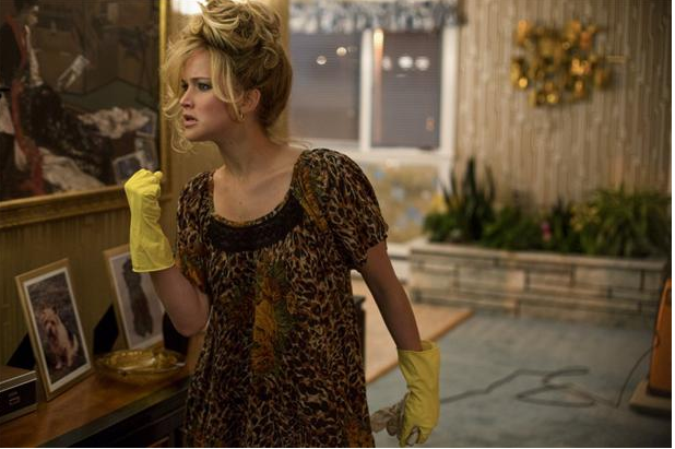 Rosalyn Rosenfeld (Jennifer Lawrence) in the Rosenfeld home in Columbia Pictures' AMERICAN HUSTLE. PHOTO BY: Francois Duhamel COPYRIGHT: 	© 2013 Annapurna Productions LLC All Rights Reserved. FOR PROMOTIONAL USE ONLY. SALE, DUPLICATION OR TRANSFER OF THIS MATERIAL IS STRICTLY PROHIBITED.