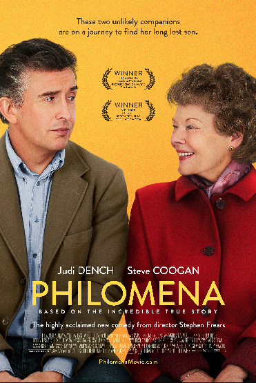JUDI DENCH and STEVE COOGAN star in PHILOMENA © 2013 The Weinstein Company. All Rights Reserved.