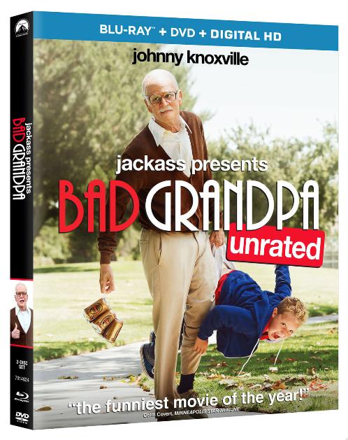 Jackass #BadGrandpaMovie obtiene nominación al Oscar.  Reseña y Sorteo.