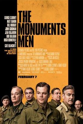 """Clooney: """"Cuarón es uno de los grandes genios del juego"""". Reacción durante conferencia de prensa """"The Monuments Men""""."""