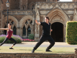 ZOEY DEUTCH and DANILA KOZLOVSKY star in VAMPIRE ACADEMY Photo: Laurie Sparham © 2013 THE WEINSTEIN COMPANY. ALL RIGHTS RESERVED.