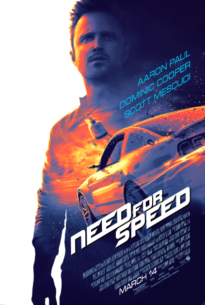 "Interesante combinación en ""Need for Speed"": Paul Aaron, autos y videojuegos."