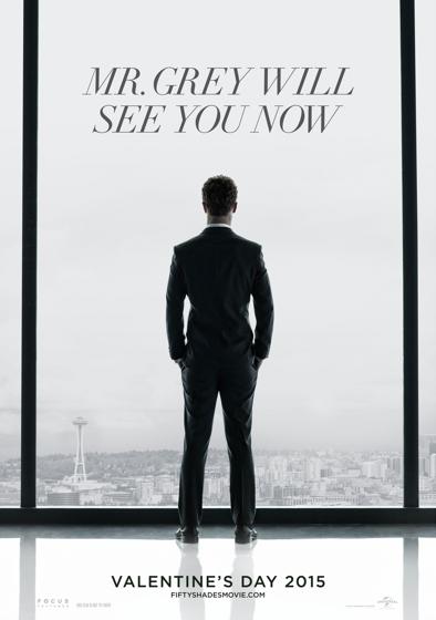 """""""Mr. Grey lo verá ahora"""". Primer póster de """"Fifty Shades of Grey"""" / """"Cincuenta Sombras de Grey""""."""
