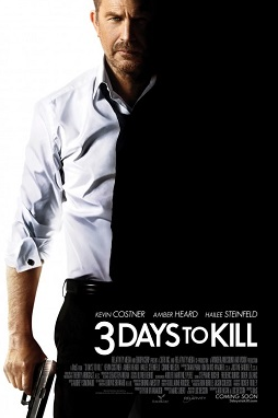 "Screening ""3 Day to Kill"" con Kevin Costner en 10 ciudades de Estados Unidos. #3DTK"