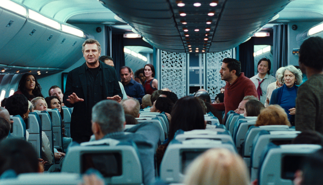 """Screening """"Non-Stop"""" con Liam Neeson en L.A, N.Y. y Miami. #nonstop"""
