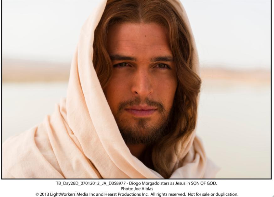 """""""Son of God"""" llega a los cines en inglés y español. Entrevista con Diogo Morgado como Jesús."""