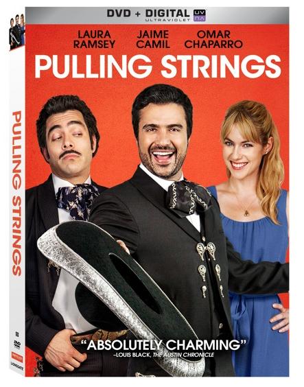 Omar Chaparro y su personaje entrañable El Canicas de Pulling Strings ahora en DVD.