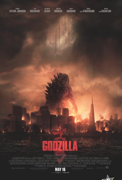"""Nuevo Trailer de """"Godzilla""""."""