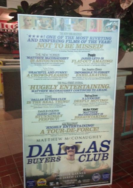 "Rumbo al Oscar: Reseña ""Dallas Buyer Club""."