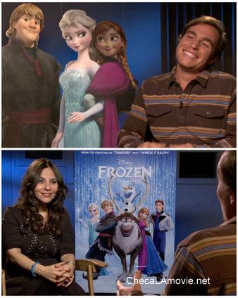 """Un venezolano que se ganó una parte del Oscar con """"Frozen""""."""
