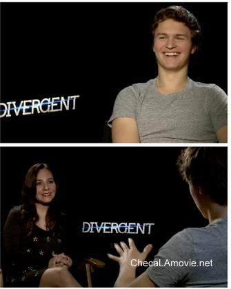 Ansel Elgort y su experiencia en un mundo Divergente. #Divergent