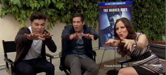 Jorge Díaz y Andrew Jacobs el nuevo episodio latino de la Actividad Paranomal. Sorteo #LosMarcados.