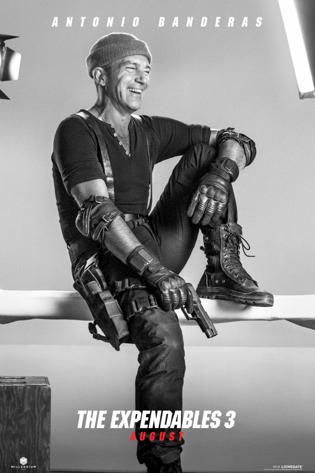 """Antonio Banderas se incorpora al equipo en """"The Expendables 3"""". Trailer y Posters."""