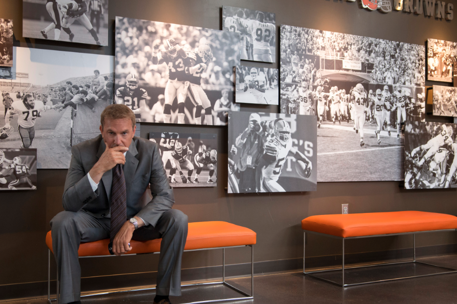 "Kevin Costner regresa con éxito a Hollywood. Ahora en ""Draft Day""."