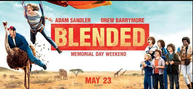 "Screening ""Blended"" con Adam Sandler y Drew Barrymore en 6 ciudades."