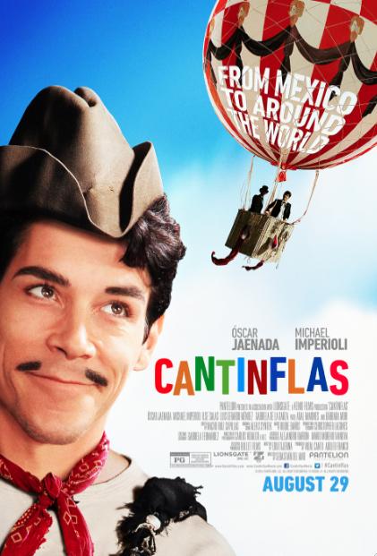 """Este verano, """"Cantinflas"""" en el cine."""