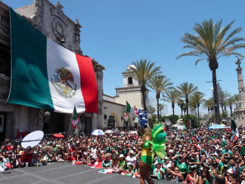 """""""RIO 2"""" lleva a los aficionados mexicanos hasta el Mundial."""