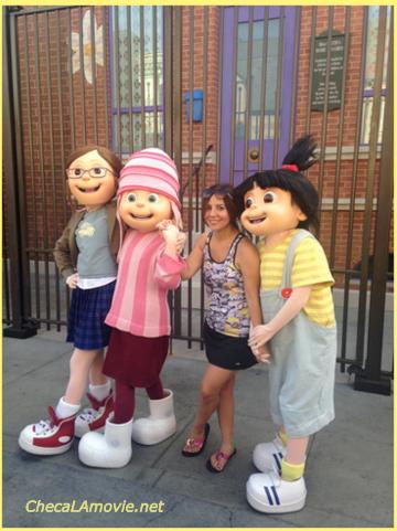 Mi celebración de cumpleaños en Universal Studios Hollywood.