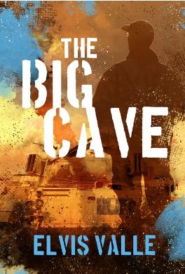 """Elvis Valle y su libro """"La Gran Cueva"""": Un niño de la frontera en la guerra civil de El Salvador."""
