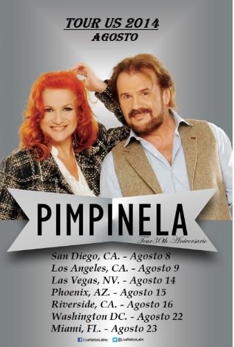 """""""Pimpinela"""" regresa a Estados Unidos para festejar 30 años de carrera artística."""