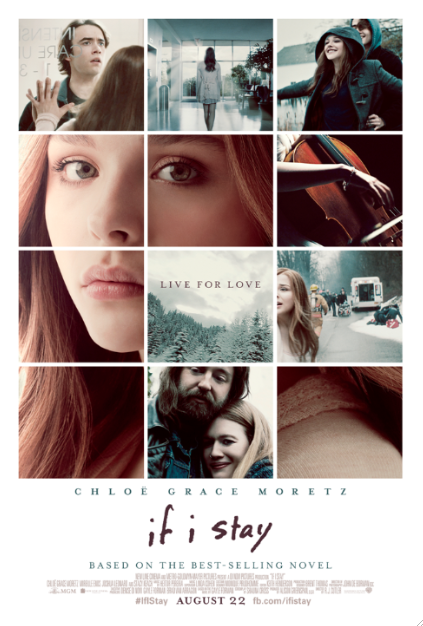 "Te invito al screening de ""If I Stay"". Hay en 10 ciudades de Estados Unidos."